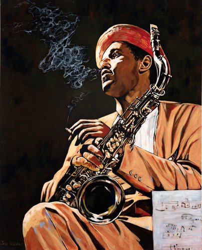 Dexter Gordon by John Wilsher