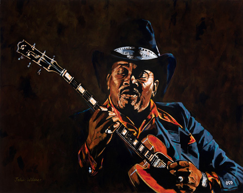 Otis Rush by John Wilsher