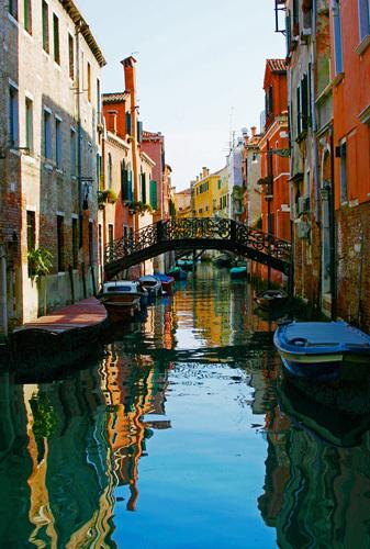 Vibrant Venice II by Wayne Williams