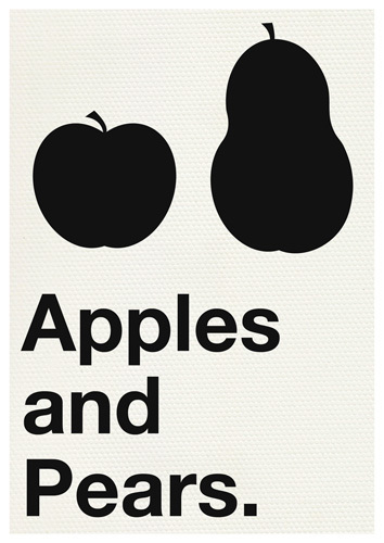 Apples and Pears by Yeah, That