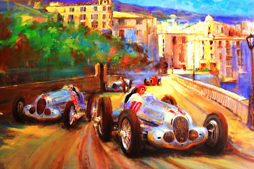 Duel At Monaco by Martin Ulbricht