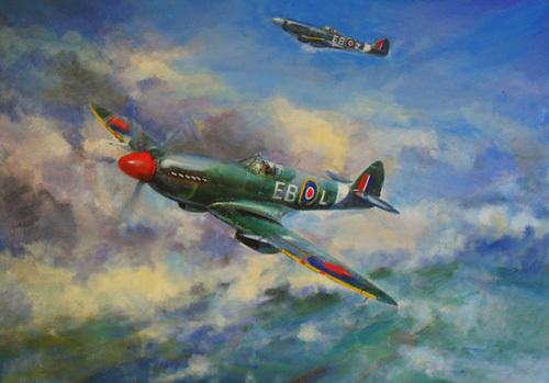 Spitfire Patrol by Martin Ulbricht
