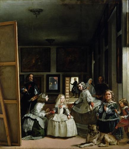 Las Meninas, c.1656 by Diego Rodriguez de Silva Velazquez