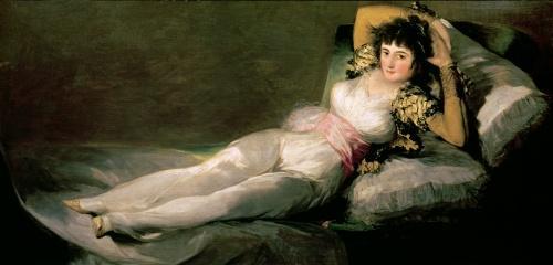 The Clothed Maja, c.1800 by Francisco de Goya
