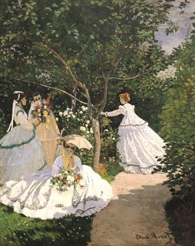 Women in the Garden, 1867 by Claude Monet