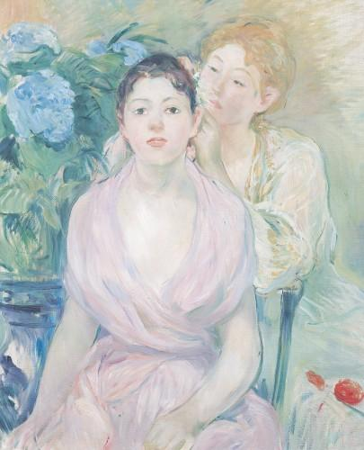 The Two Sisters, 1894 by Berthe Morisot
