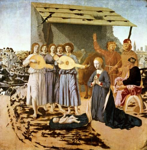 Nativity, 1470 by Piero Della Francesca