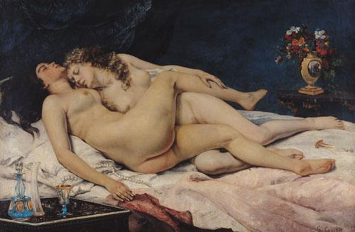 Le Sommeil, 1866 by Gustave Courbet