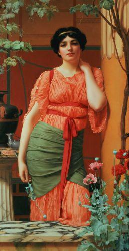 Nerissa, 1906 by John William Godward