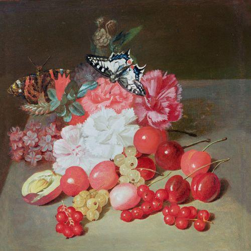 Still Life with Butterflies by Louis-Leopold Boilly