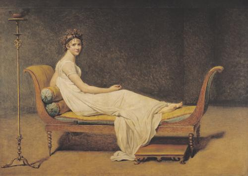 Madame Recamier, 1800 by Jacques-Louis David