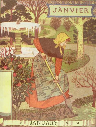 January by Eugene Grasset