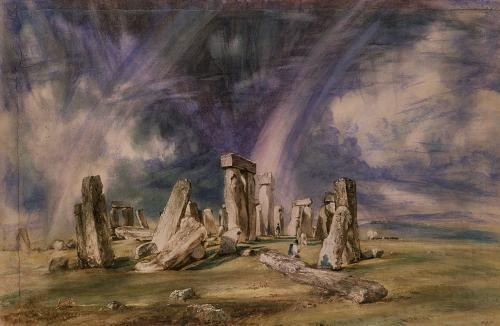Stonehenge, 1835 by John Constable