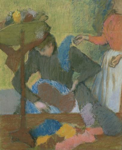At the Milliner's, c.1898 by Edgar Degas