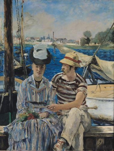 Argenteuil, 1874 by Edouard Manet