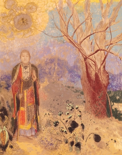 The Buddha, c.1905 by Odilon Redon
