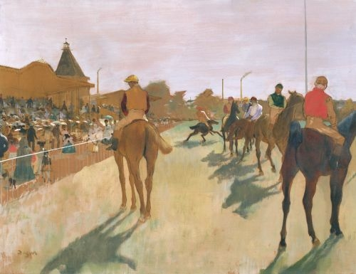 The Parade, c.1866 by Edgar Degas