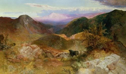 Glen Ogle, Scotland, 1860 by John Samuel Raven
