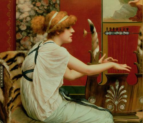 Music by John William Godward