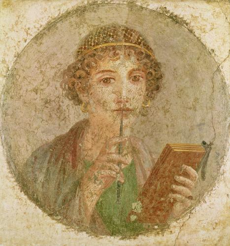 Portrait of a young girl by Roman Art