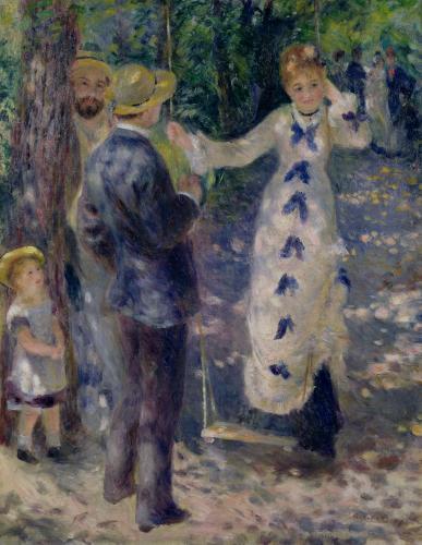 The Swing, 1876 by Pierre Auguste Renoir