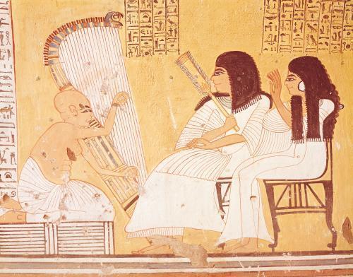 The Tomb of Ankerkhe by Egyptian Art