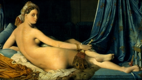 The Grande Odalisque, 1814 by Jean-Auguste-Dominique Ingres