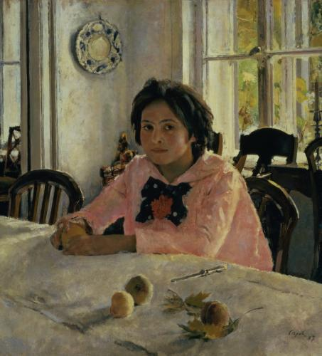 Girl with Peaches, 1887 by Valentin Aleksandrovich Serov