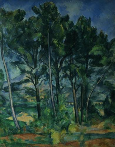 The Aqueduct, c.1885 by Paul Cezanne