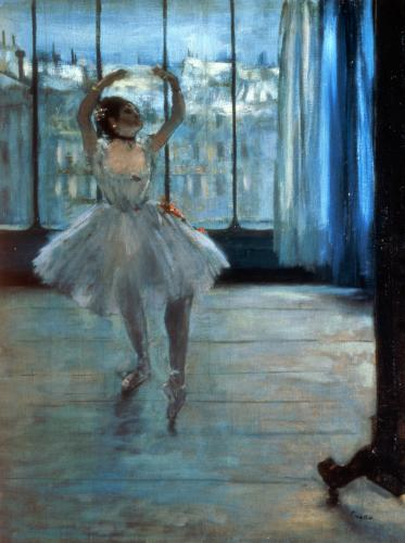 Dancer in Front of a Window c.1874 by Edgar Degas