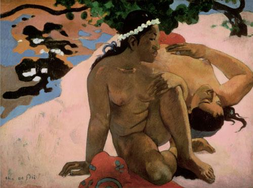 Aha oe Feii 1892 by Paul Gauguin