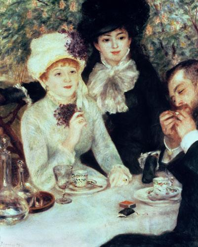 The End of Luncheon, 1879 by Pierre Auguste Renoir