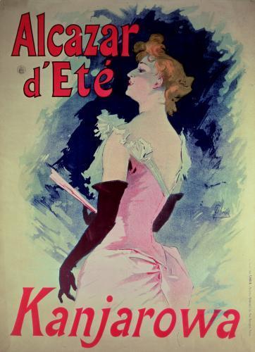 Alcazar d'Ete by Jules Cheret