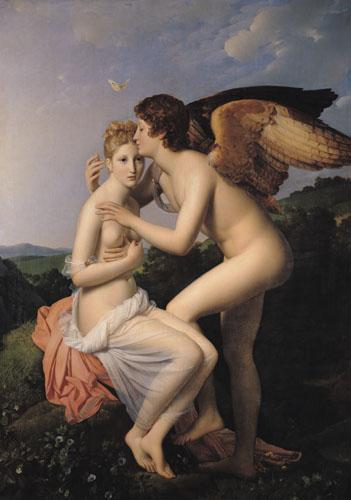 Psyche Receiving the First Kiss of Cupid, 1798 by Baron Francois Pascal Simon Gerard