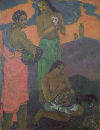 Maternity, or Three Women on the Seashore, 1899 by Paul Gauguin