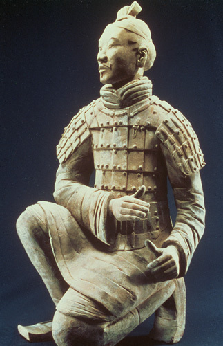 Terracotta Army, Qin Dynasty, 210 BC, Warrior by Chinese School
