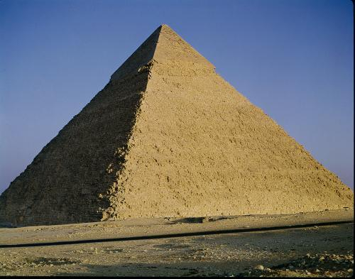 Pyramid of Khafre by Egyptian Art