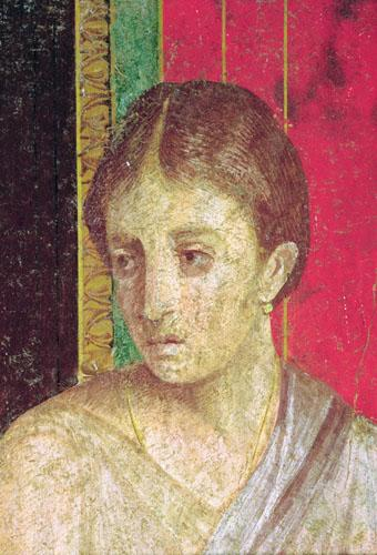 Detail of the Head of the Seated Mother, 60 BC by Roman Art