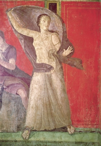 The Startled Woman, 60 BC by Roman Art