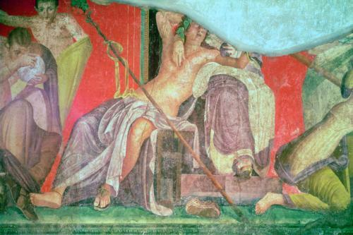 Dionysian Entourage, 60 BC by Roman Art