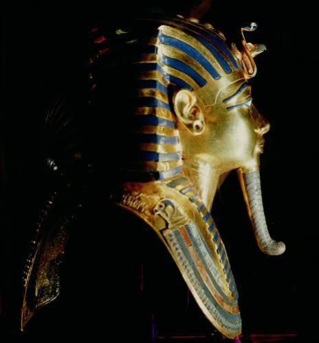 Gold Mask of Tutankhamun by Egyptian Art