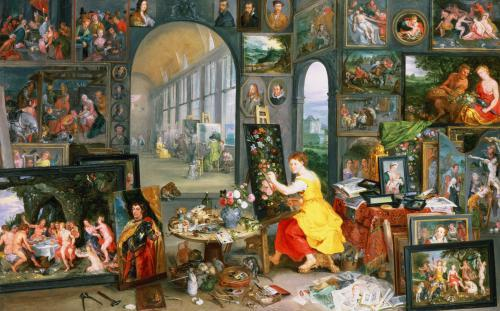 Allegory of Painting by Jan Bruegel The Younger
