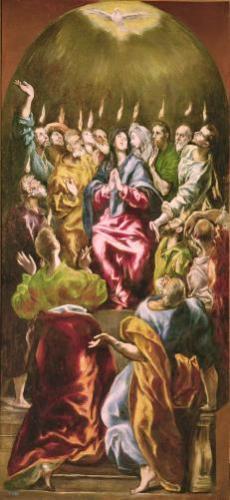 The Pentecost, c.1604 by El Greco