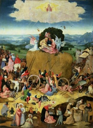 The Haywain, c.1500 by Hieronymus Bosch