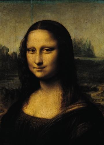Mona Lisa, c.1503 (Detail) by Leonardo da Vinci