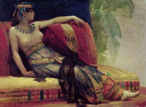 Cleopatra by Alexandre Cabanel