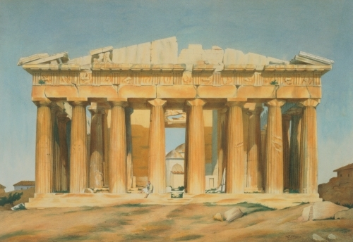 The Parthenon, Athens, 1810 by Louis After Dupre