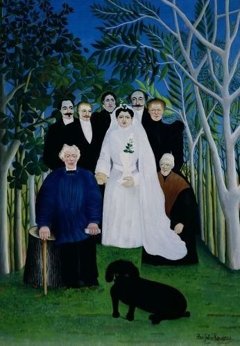 The Wedding Party, 1904 by Henri Rousseau