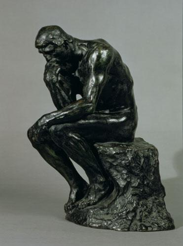 The Thinker 1881 by Auguste Rodin
