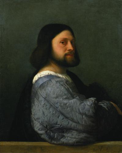 Portrait of a Man, c.1512 by Titian